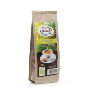Organic coffee ground in 250g stabilo bag