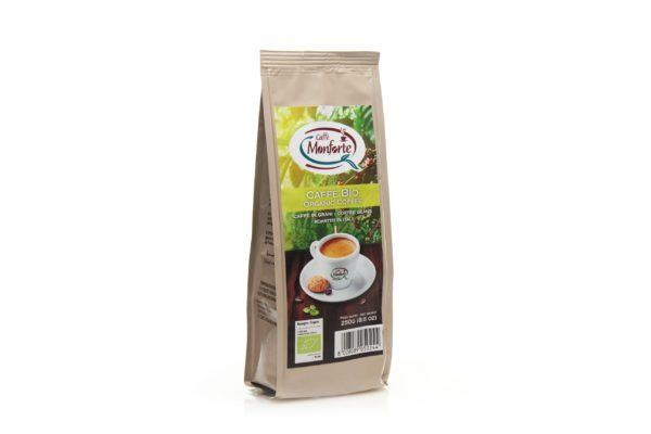 Organic coffee ground in 250g stabilo bag